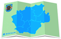 Children's city map Bochum